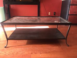 Glass coffee table for Sale in Tacoma, WA