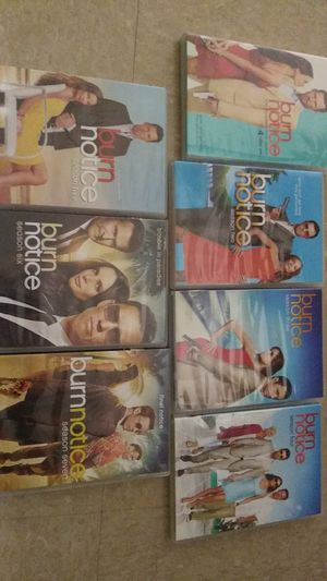 Burn notice complete 7 season set for Sale in St. Petersburg, FL