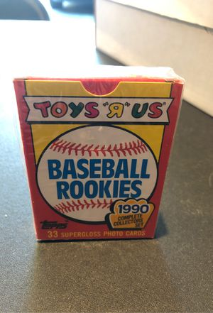 1990 TOYS R US BASEBALL ROOKIES SEALD 33 CARD SET for Sale in Portland, OR