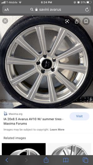 20 inch 5x114 for Sale in Revere, MA