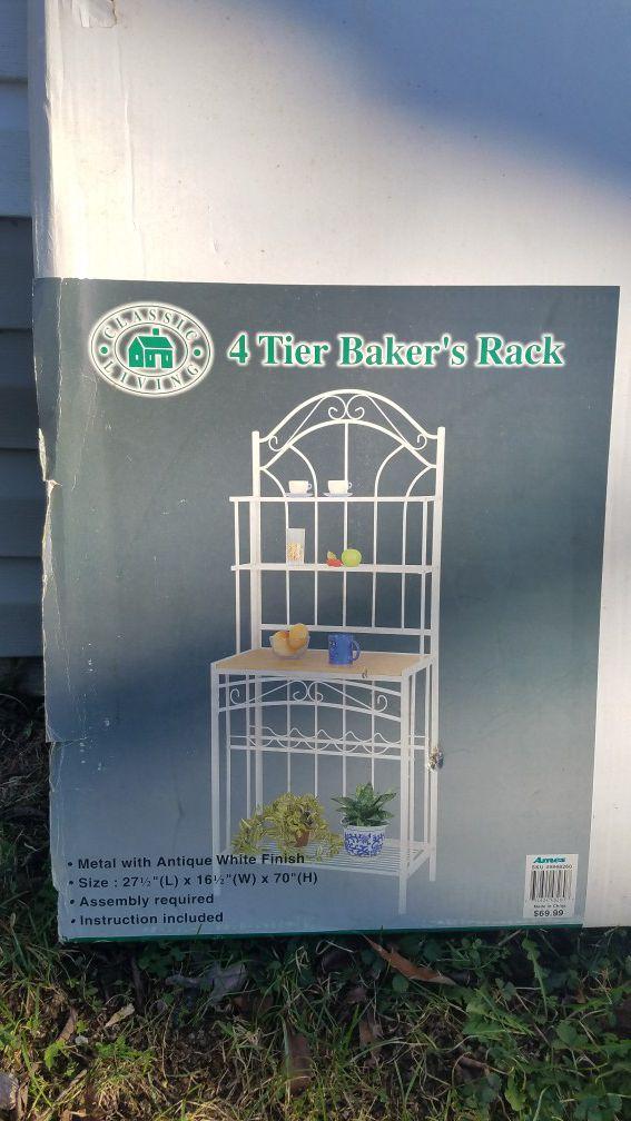4 Tier Baker Rack