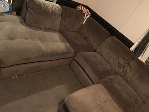 sectional brown couch for Sale in Buford, GA