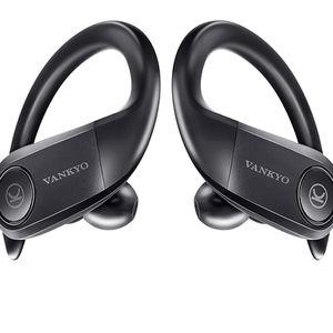 Sports Wireless Earbuds, VANKYO S05A Bluetooth 5.0 Earbuds TWS Stereo Headphones, True Wireless Earphones AptX Deep Bass in-Ear Touch Control IPX7 Wat for Sale in Brooklyn, NY