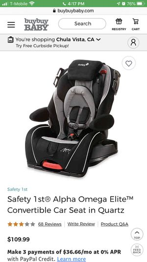 Reclining car seat for sale for Sale in San Diego, CA