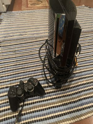 Ps3 bundle - backwards compatible - 1 controller - 1game for Sale in Raleigh, NC