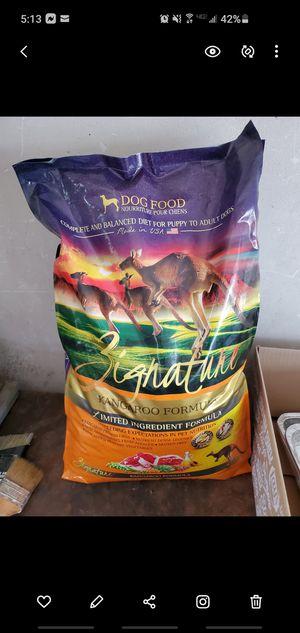 Big bag kangaroo dog food for Sale in Worcester, MA