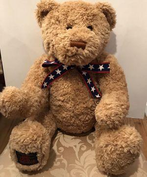 "GUND 100 Year Anniversary Teddy Wish Bear 26"" Tall Soft Plush Toy 2002 for Sale in Greenwich Township, NJ"