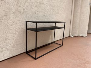 NEW heavy and durable iron black TV stand sofa table console desk -;/ for Sale in San Diego, CA