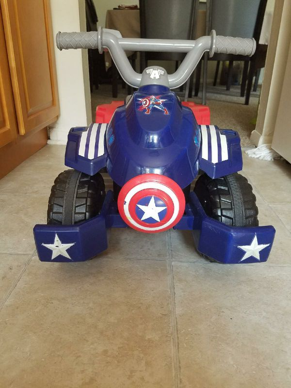 Captain America 4W for toddler