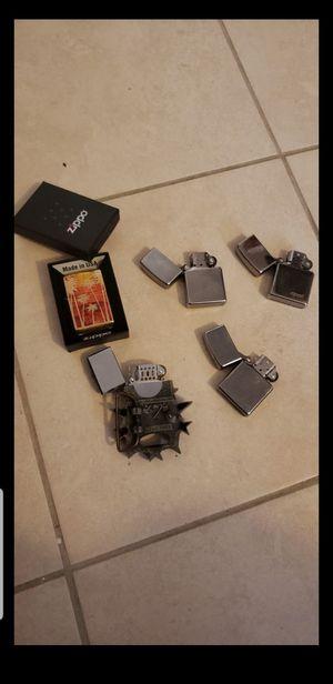 Zippo lighters and Belt lighter for Sale in Houston, TX