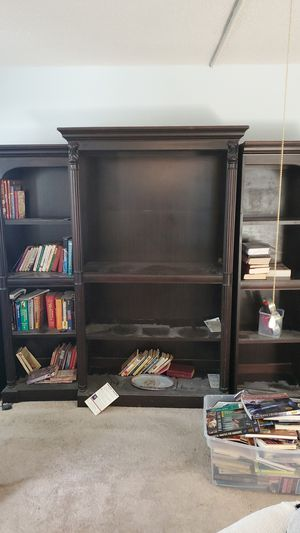 Free book shelf entertainment system for Sale in Boca Raton, FL