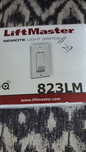 LiftMaster 823LM Remote Light Switch for Sale in Ostrander, OH