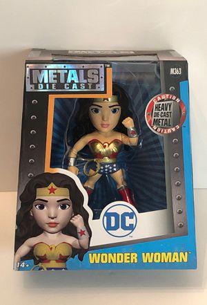 """DC Comics Wonder Woman 4"""" Die-Cast Metal Figure Jada Toys for Sale in Las Vegas, NV"""
