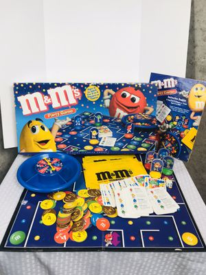 Rare 1999 M&M Party Board Game for Sale in Pawtucket, RI