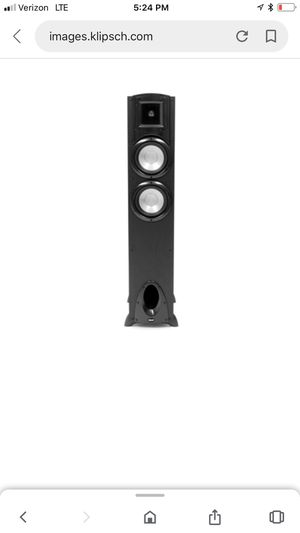Klipsch F-20 floorstand speaker for Sale in Whitewater, CA