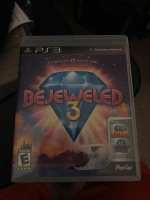 Bejeweled 3 ps3 for Sale in Winston-Salem, NC
