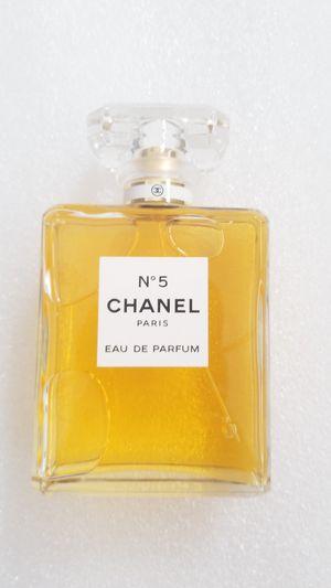 N5 chanell paris eau de parfum 3.4oz womens perfume for Sale in Chula Vista, CA