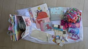 100+ pieces Rainbow Unicorn Birthday Supplies for Sale in Rancho Mirage, CA