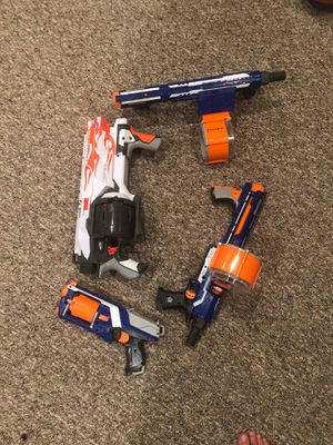 Nerf Gun 4 set for Sale in Red Bank, NJ
