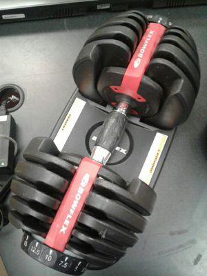 Bowflex weight adjustable dumbells for Sale in Renton, WA