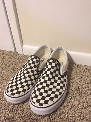 Men's Checkerboard Vans size 12 for Sale in Ballston Lake, NY