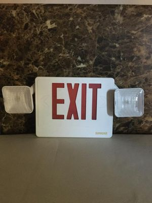 Exit light sign for Sale in Laredo, TX