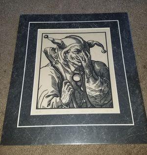 Allen Bjorkman The Fool Unframed Art for Sale in Damascus, MD