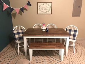 Dining table bench and 4 chairs for Sale in Fort Worth, TX