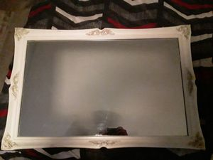 White antique mirror for Sale in Long Beach, CA