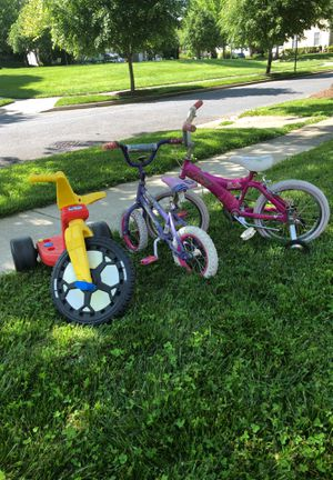 3 bikes-2girls and 1 boys. Good condition. for Sale in Boyds, MD