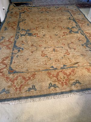 Pakstani oriental rug size 9.2'x11.9' hand made real value $5000-$7000 for Sale in Frisco, TX