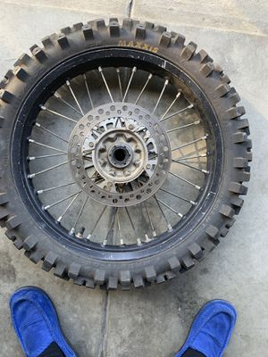 Honda rear rim with fairly new tire for Sale in Ontario, CA