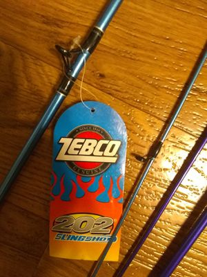 Zebco 202 Fishing Rod and Reels for Sale in Winston-Salem, NC