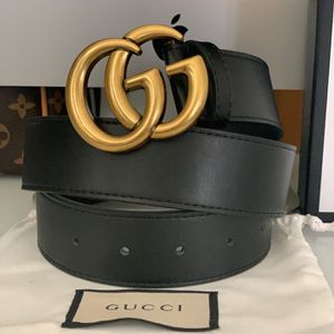 Gucci Belt With Gold GG Buckle for Sale in San Diego, CA