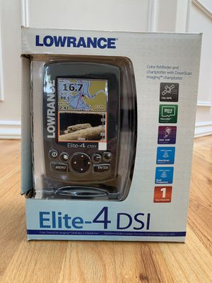 Lowrance Elite 4 DSI Color Fish Finder for Sale in Snohomish, WA
