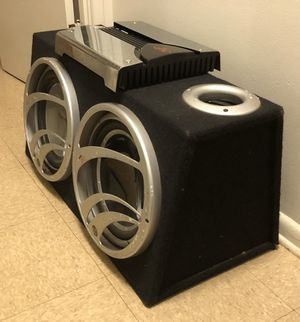 Fosgate subs and amp for Sale in Middletown, CT