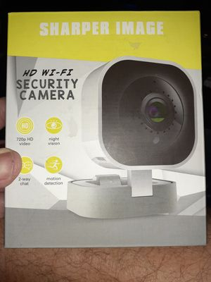 Sharper Image HD Wi-Fi security camera for Sale in St. Petersburg, FL