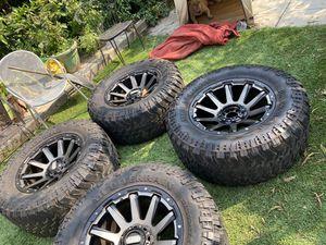 Rims with tires for Sale in El Sobrante, CA