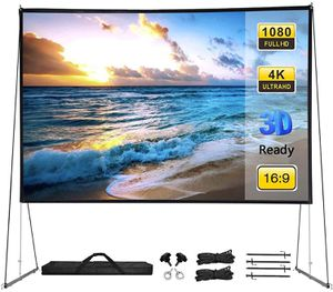 Projector screen with stand for Sale in Pasadena, CA
