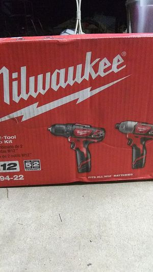Milwaukee 2 tool combo kit for Sale in Tempe, AZ