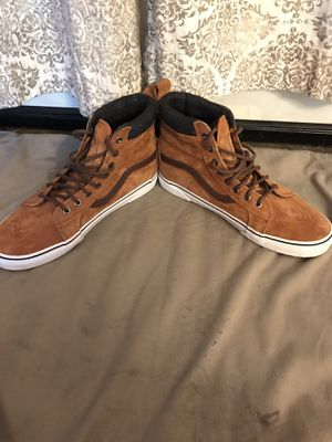 Sz 11 brown high-top Vans for Sale in Fort Smith, AR
