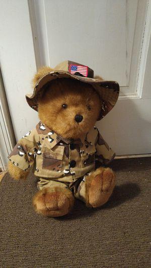 Military patriotic Teddy Bear for Sale in Powhatan, VA