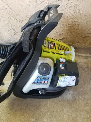 Leaf blower/ sopladora. Poco uso for Sale in Santa Ana, CA