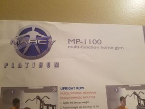 Marcy mp-1100 multi function home gym for Sale in Grove City, OH
