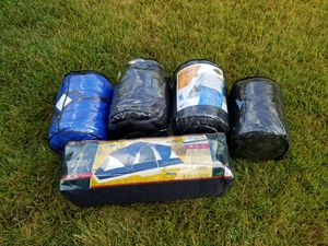3 Room Tent with 4 Sleeping bags for Sale in Pennsauken Township, NJ