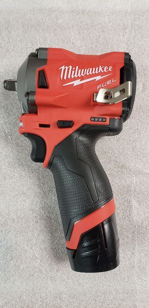 """Milwaukee M12 Fuel 3/8"""" Stubby Impact Wrench With 2AH Battery ***$180 FIRM*** for Sale in Phoenix, AZ"""