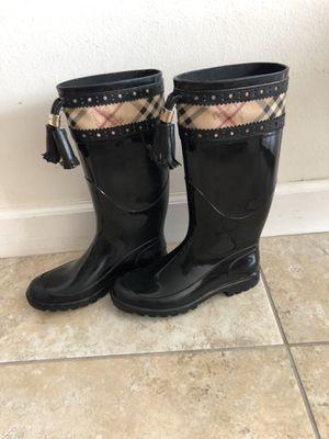 Burberry rain boots for Sale in Miami, FL