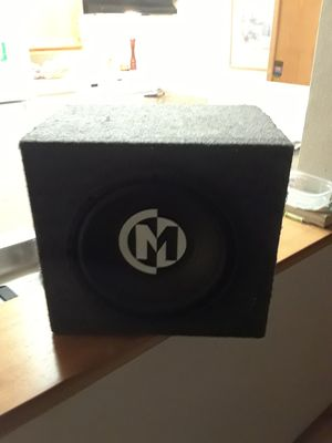 Memphis car audio subwoofer for Sale in Portland, OR