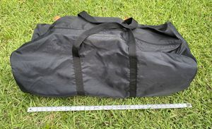 Large Duffle Bag 3 feet Black, top snd end straps. for Sale in Miami Gardens, FL