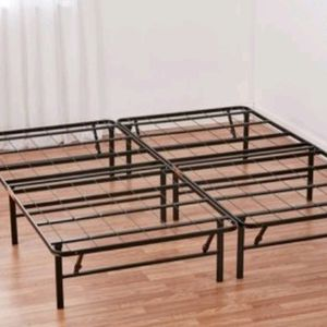 """mainstays 14"""" high profile foldable back steel bed frame queen for Sale in Chandler, AZ"""